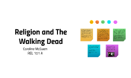 Religion and The Walking Dead