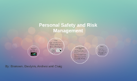 Personal Safety and Risk Management