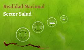 Realidad Nacional - Sector Salud - FIEE UNMSM