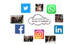 De social media van