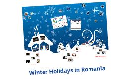 Sărbători de iarnă România