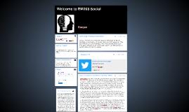 Welcome to EM203 Social