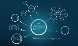 Copy of Teoría de las Contingencias