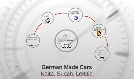 German Made Cars
