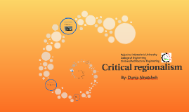 Copy of Critical regionalism