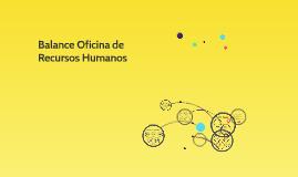 Balance 2017-Oficina de RRHH