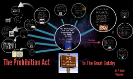 The Prohibition Act and The Great Gatsby.