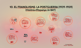 Tema 12. EL FRANQUISME