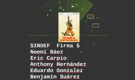 SINDEF  Firma 5