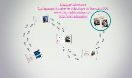 Lizanne Lafontaine, professeure agrégée de didactique du fra