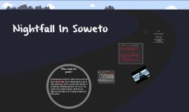 Nightfall in Soweto