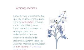 Copy of Acciones médicas