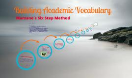 Copy of Secondary GCCISD Marzano's 6 Step