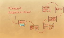 A Ciência Geográfica e o Ensino de Geografia no Brasil