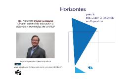 2018_Horizontes de la Educación a Distancia en Argentina