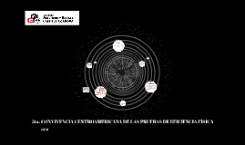 5ta. CONVIVENCIA CENTROAMERICANA DE LAS PRUEBAS DE EFICIENCI