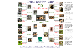 Copy of Texas Parks & Wildlife's Texas Critter Clash 2015 - Little League Edition