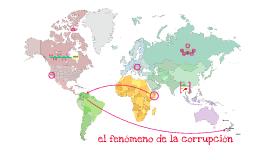 El fenómeno de la corrupción