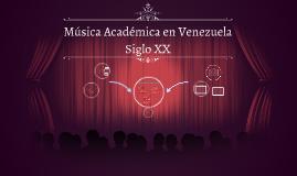 Música Academica en Venezuela