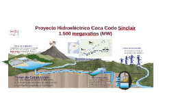 Sitio del proyecto hidroeléctrico Coca Codo Sinclair