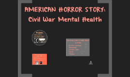 Mental Health During the Civil War