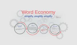 Word Economy