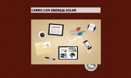 CARRO CON ENERGIA SOLAR-UNIPANAMERICANA