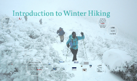 Introduction to Winter Hiking