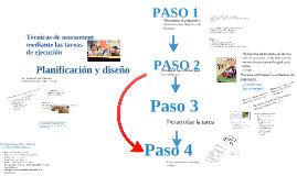 Planificación y diseño de las técnicas de assessment