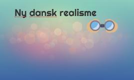 Ny dansk realisme