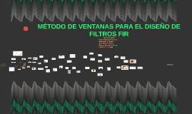 Copy of MÉTODO DE VENTANAS PARA EL DISEÑO DE FILTROS FIR