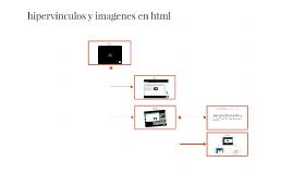 hipervinculos y imagenes en html