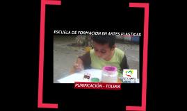 ESCUELA DE FORMACIÓN EN ARTES PLASTCIAS