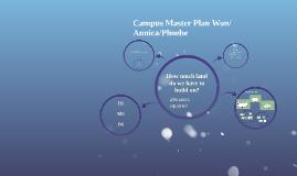 Campus Master Plan Won, Annica & Phoebe