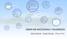 REINO DE MACEDONIA Y HELENISMO