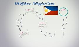 RM Offshore-  Philippines Team