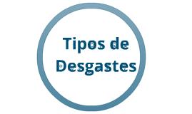 Copy of Tipos de desgaste