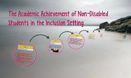 The Academic Achievement of Non-Disabled Students in the Inclusion Setting
