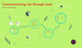 News as risk communication