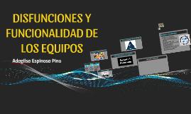 FUNCIONALIDAD DE LOS EQUIPOS
