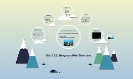Unit 12: (2) Responsible Tourism