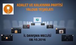 Ak Parti Yalova İl Danışma Meclisi