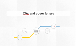CVs and cover letters