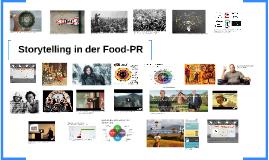 Storytelling in der Food-PR