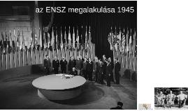az ENSZ megalakulása