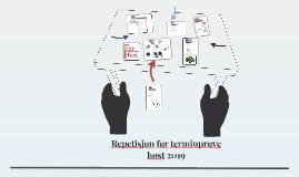 Repetisjon 1. terminprøve Bi 1