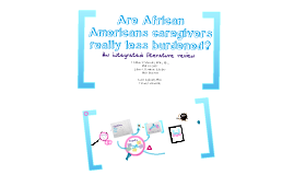 African Americans Caregivers