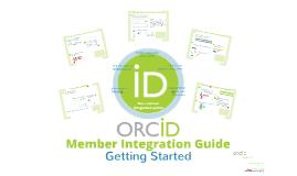 ORCID Member Integration Guide
