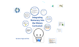 Integrating numeracy into the History Curriculum