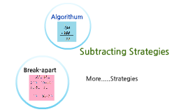 Subtracting Strategies